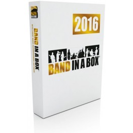 Band-in-a-Box Audiophile Edition con RealBand (1TB Hard Drive)